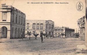 Djibouti Souvenir - Rue Gambetta, Road, Postcard