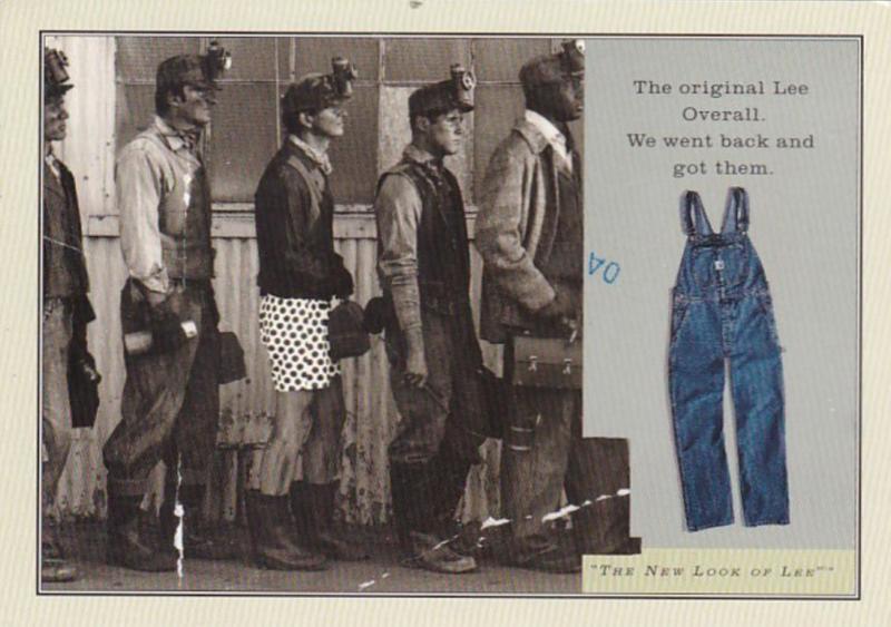 Advertising Clothing Lee Dungaries 1997