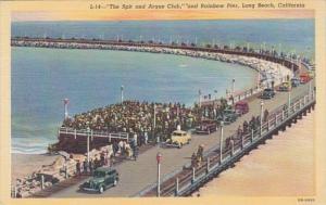 California Long Beach The Spit and Argue Club & Rainbow Pier Curteich