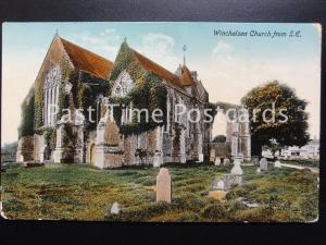 c1915 Sussex: Winchelsea Church from S.E