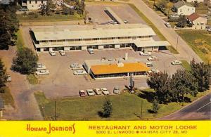 Kansas City Missouri Howard Johnsons Motor Lodge Vintage Postcard K57947