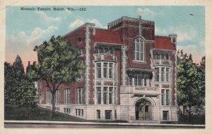 BELOIT , Wisconsin , 1910s ; Masonic Temple