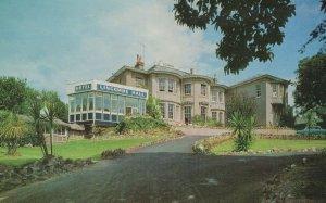 Lincombe Hall Hotel Torquay Devon 1970s Postcard