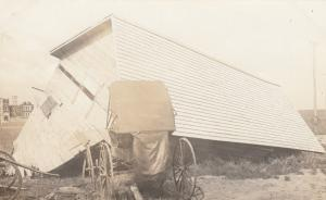 RP: ESTAVAN , Sask., Canada , 1900-10s ; After the Storm #2