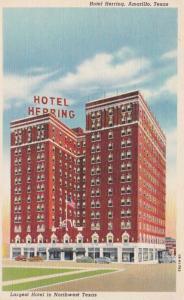 Texas Amarillo Hotel Herring Curteich