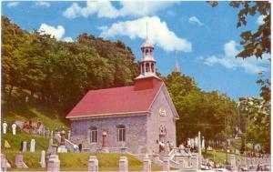 Commemorative chapel Ste-Anne-De-Beaupre PQ Quebec