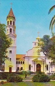 Florida Saint Augustine Roman Catholic Cathedral