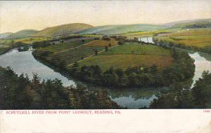 Schuylkill River From Point Lookout Reading Pennsylvania