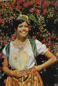 MARTINIQUE , 1985 ; Folk Dancer