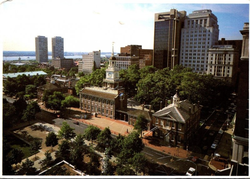 Pennsylvania Philadelphia Independence Hall Historical Park 1997