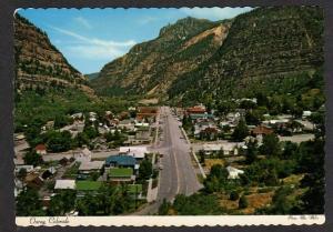 CO View OURAY COLORADO Postcard Million Dollar Highway