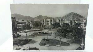 Vintage Postcard Governmental Palace & Surrounding Area Lima Peru
