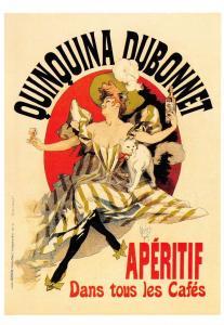 Postcard Quinquina Dubonnet - Aperitif, Reproduction Advertising Card #51
