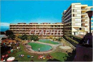 Postcard Modern Tenerife puerto de la cruz tenerife gran hotel pool beach