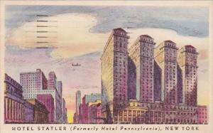 New York City Hotel Statler 1950