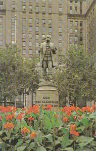 Ohio Cleveland Statue General Moses Cleveland