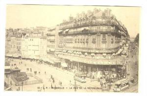 La Rue De La Republique, Marseille (Bouches-du-Rhone), France, 1900-1910s