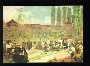 208452 CZECH Alfons Mucha Moravian brethren School in Ivancice