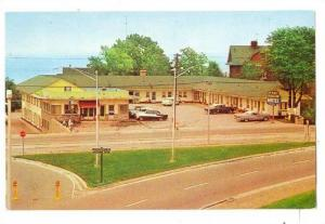 Chancellor Motel and Restaurant, Humber Bay, Toronto, Ontario, Canada, 40-60s