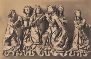 Menschneider Engels Konzert Angels Religious Holz Berlin Museum