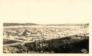 WI - Fort Lewis. New Barracks      *RPPC