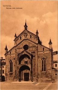 CPA VERONA Facciata della Cattedrale . ITALY (448664)
