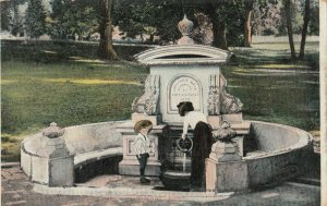 BALTIMORE, Maryland, 1900-1910s ; Well , Druid Hill Park
