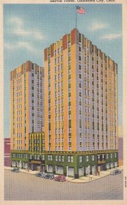 OKLAHOMA CITY, Oklahoma, 1930-1940's; Skirvin Tower