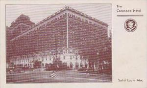 Missouri Saint Louis The Coronodo Hotel