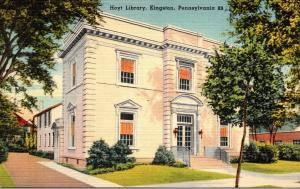 Hoyt Library Kingston Pennsylvania