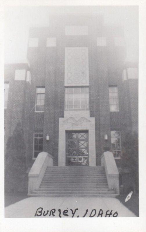RP: BURLEY , Idaho , 1950s ; Court House