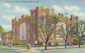 Indiana Anderson Park Place Church Of God Curteich