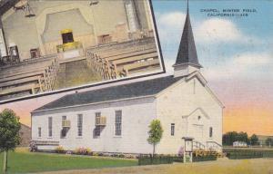 Chapel, Minter Field,  California, 30-40s