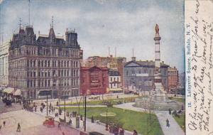 New York Buffalo Lafayette Square 1911