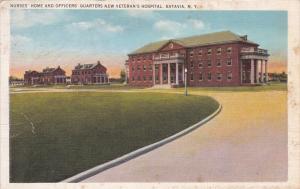 BATAVIA, New York; PU-1930; Nurses' Home & Officers' Quarters, New V.A. Hospital