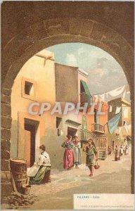 Postcard Old Palermo Kalza
