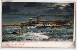 Montreal, Lachine Rapids, Steamer Sovereign