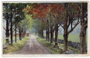 A Beautiful Drive Along The Boston & Albany Near Pittsfield, Mass