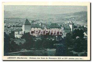 Old Postcard Annecy Haute Savoie Chateau des Ducs de Nemours