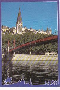 France Lyon Passerelle St-Georges