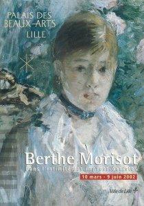 Postcard Advertising palais des beaux arts lille berthe morisot draw paint