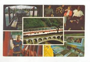 Multiview:Auto Train =Carries Passengers & Cars 1960-70s