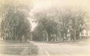 C-1910 Charlestown New Hampshire Main Street RPPC real photo postcard 1587