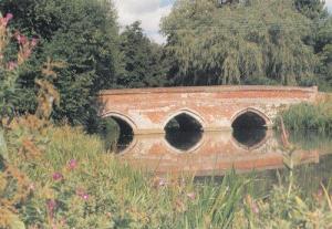 Toppesfield Bridge Hadleigh Suffolk Painting Postcard