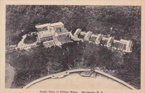 New York Oseawana Aerial View Of Valeria Home Albertype