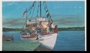 Florida Tarpon Springs  Ready For A Sponging Trip