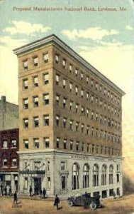 Manufacturers National Bank in Lewiston, Maine