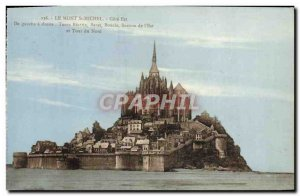 Old Postcard Mont Saint Michel