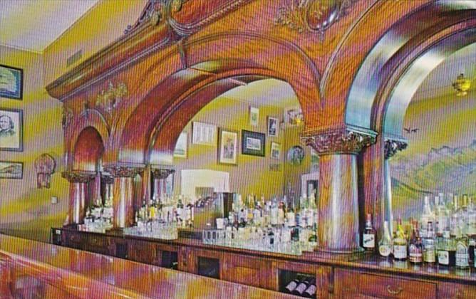 Colorado Silverton Grand Imperial Hotel Largest Cherrywood Bar In