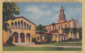 Florida Winter Park Rollins College Annie Russel Theater And Knowles Memorial...
